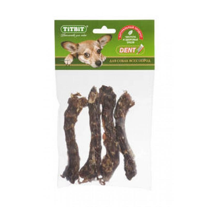 Лакомство для собак Titbit Шейки куриные мягкая уп-ка 0,075 кг