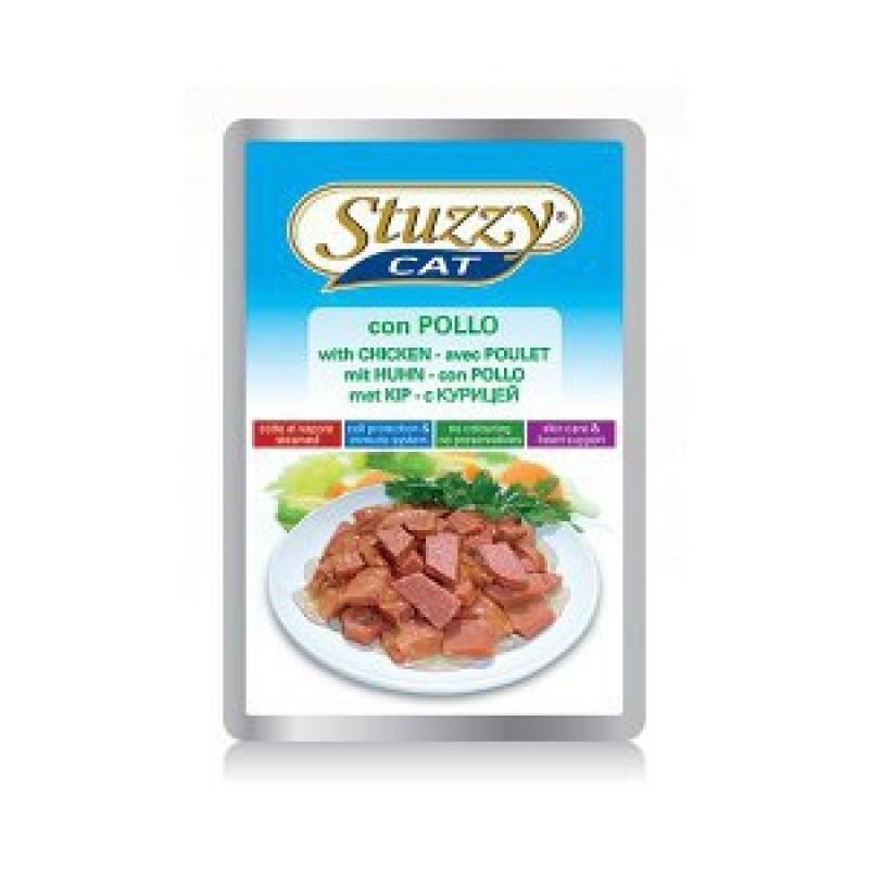 Влажный корм для кошек Stuzzy Cat с курицей 0,1 кг