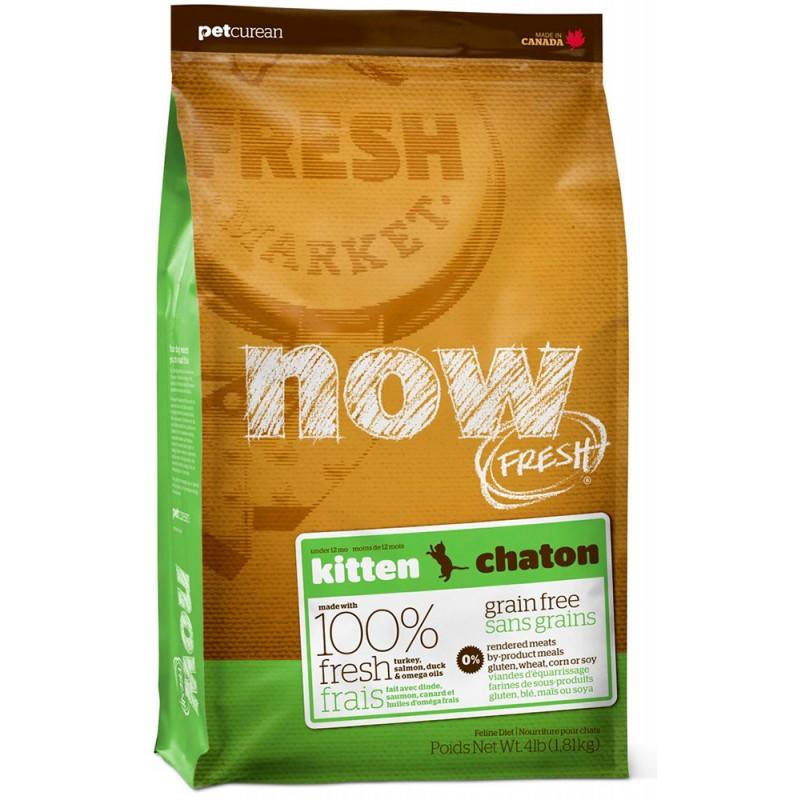 Сухой корм для котят Now FRESH Grain Free Kitten Food 1,8 кг