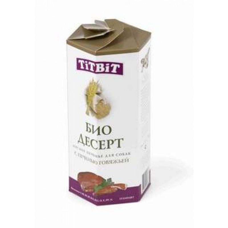 Лакомство для собак Titbit Печенье с печенью стандарт 0,35 кг