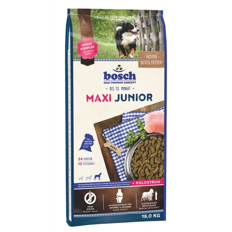 Сухой корм для щенков Bosch Maxi Junior 15 кг
