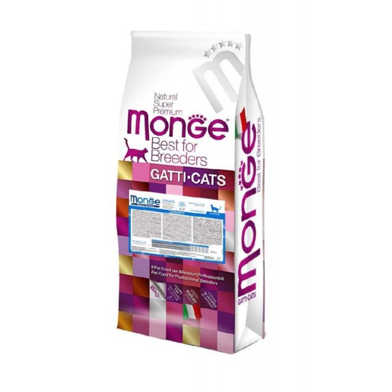Сухой корм для кошек Monge Cat Urinary профилактика МКБ 10 кг