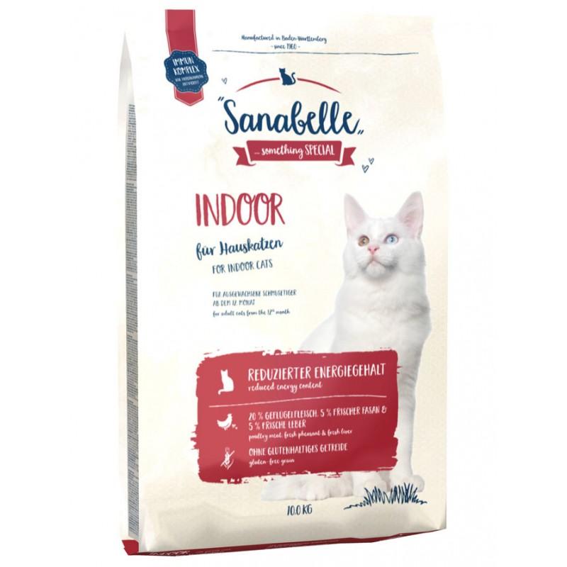 Сухой корм для кошек Sanabelle Indoor 10 кг