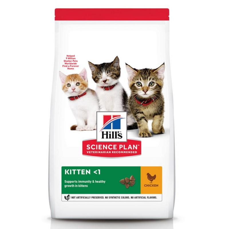 Сухой корм для котят Hills Science Plan Healthy Development Kitten Chicken 7 кг
