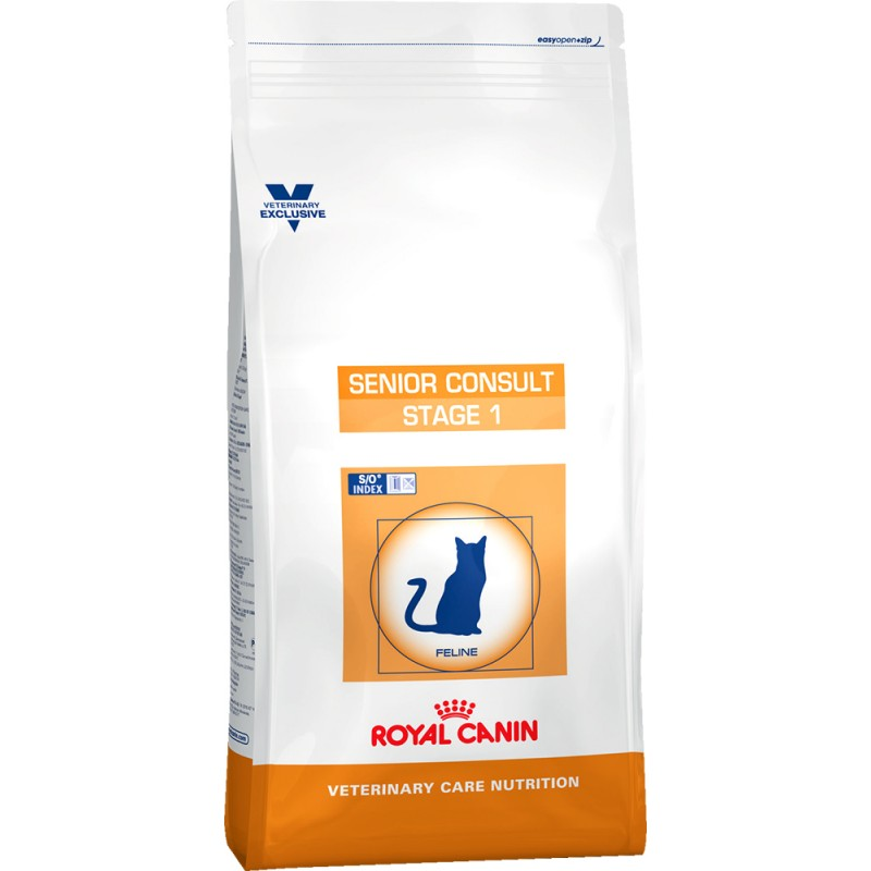 Сухой корм Royal Canin Senior Consult Stage1 диета для кошек 1,5 кг