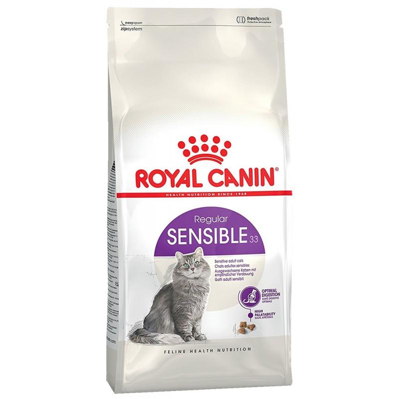 Сухой корм для кошек Royal Canin Sensible 33 2 кг