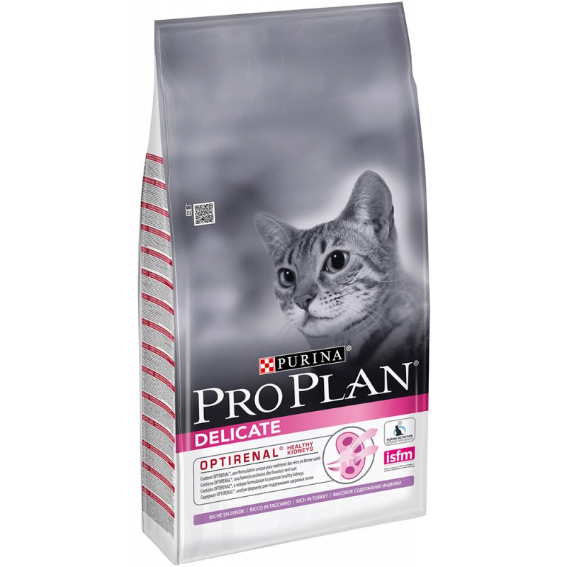 Сухой корм для кошек Purina Pro Plan Delicate Feline Turkey 1,5 кг