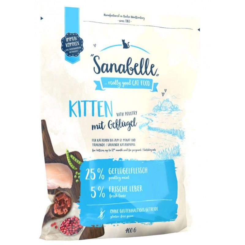 Сухой корм для котят Sanabelle Kitten 0,4 кг