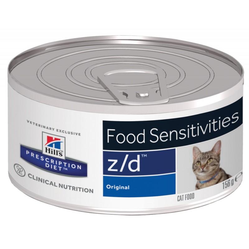 Влажный корм Hills Prescription Diet z/d Feline Canned диета для кошек 0,156 кг