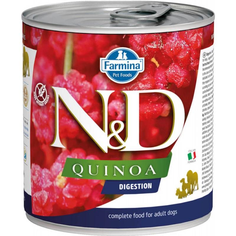 Влажный корм для собак Farmina N & D Quinoa Digestion с киноа для поддержки пищеварения 0,285 кг