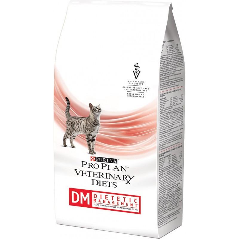 Сухой корм Purina Pro Plan Veterinary Diets Feline DM диета для кошек 1,5 кг