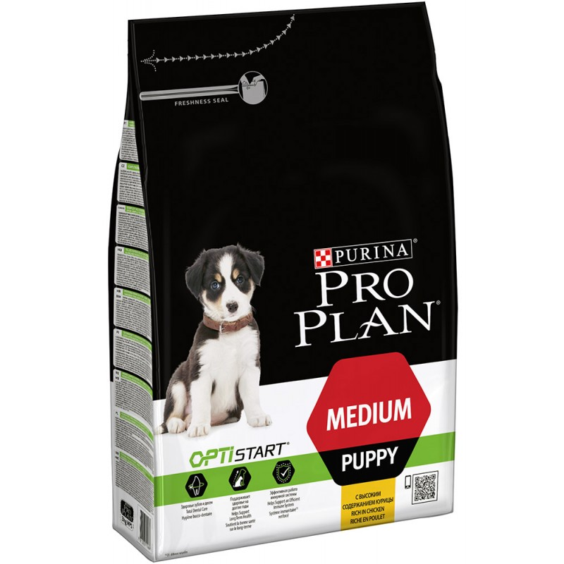 Сухой корм для щенков Purina Pro Plan Medium Puppy 12 кг