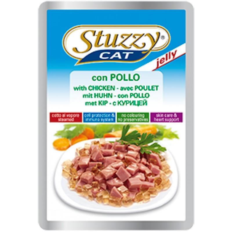 Влажный корм для кошек Stuzzy Jelly с курицей в желе 0,1 кг