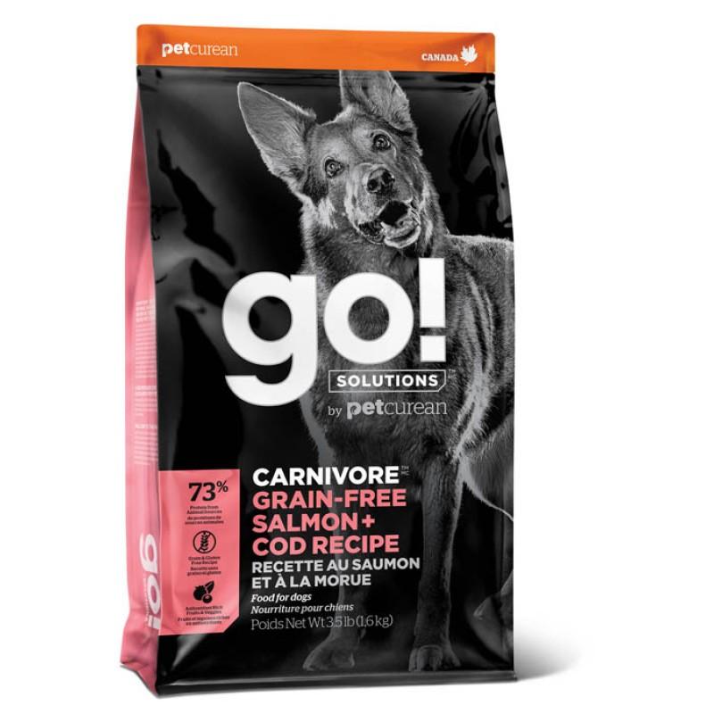 Сухой корм для собак Go! Salmon + Cod Recipe с лососем и треской 9,98 кг
