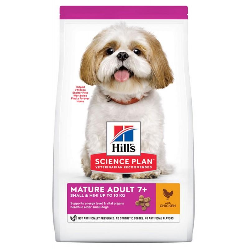 Сухой корм для собак Hills Science Plan Mature Adult 7+ Small & Miniature with Chicken 0,3 кг