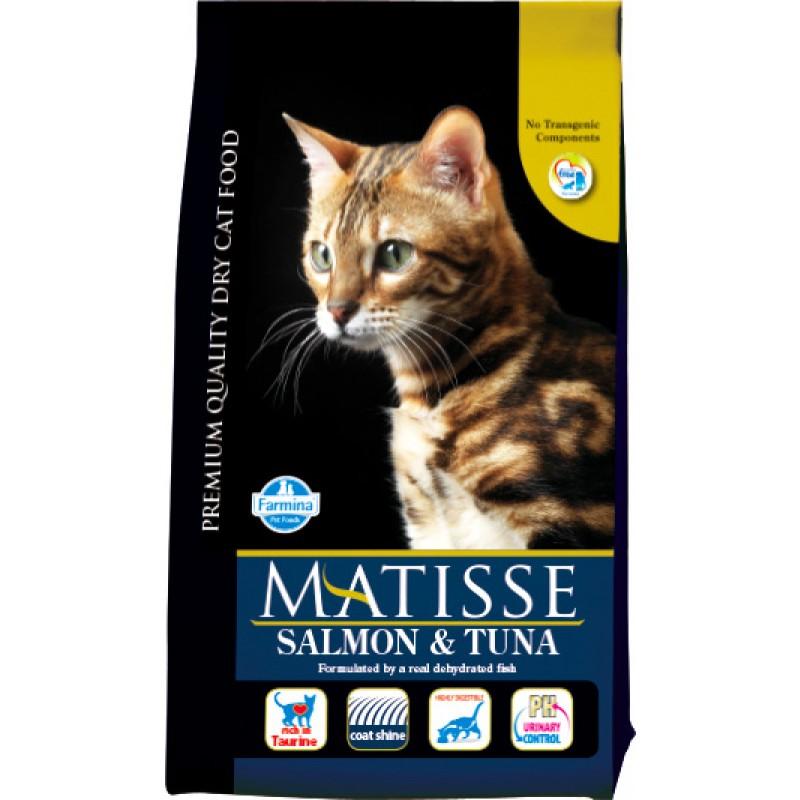 Сухой корм для кошек Farmina Matisse Salmon & Tuna 1,5 кг