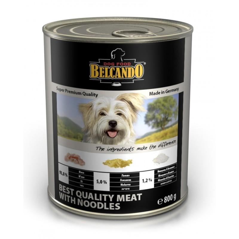 Влажный корм для собак Belcando Best Quality Meat with Noodles 0,8 кг