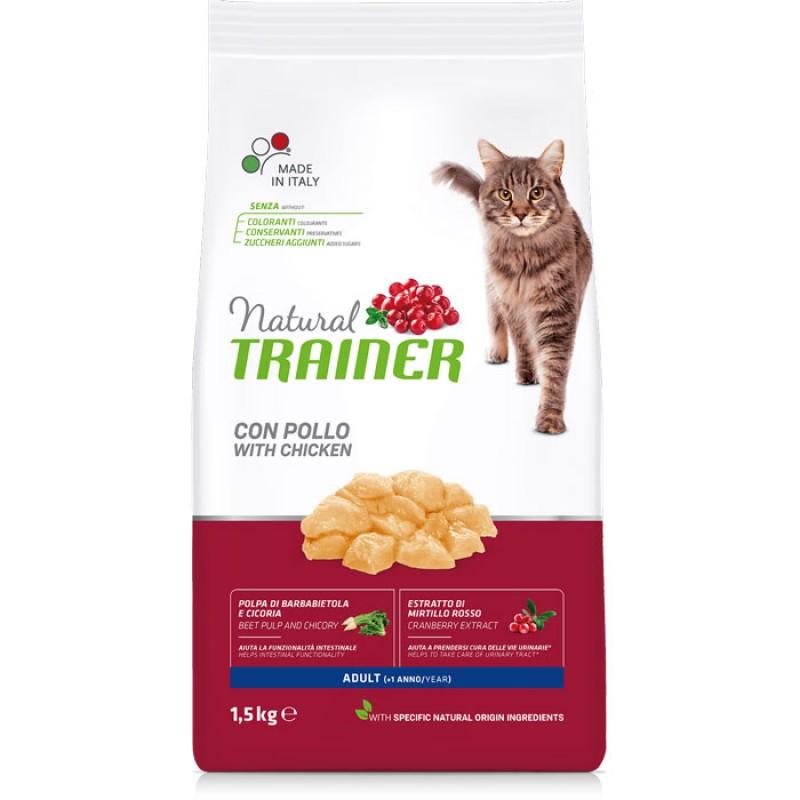 Сухой корм для кошек Trainer Natural Chicken Adult 10 кг