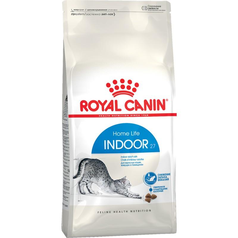 Сухой корм для кошек Royal Canin Indoor 27 2 кг