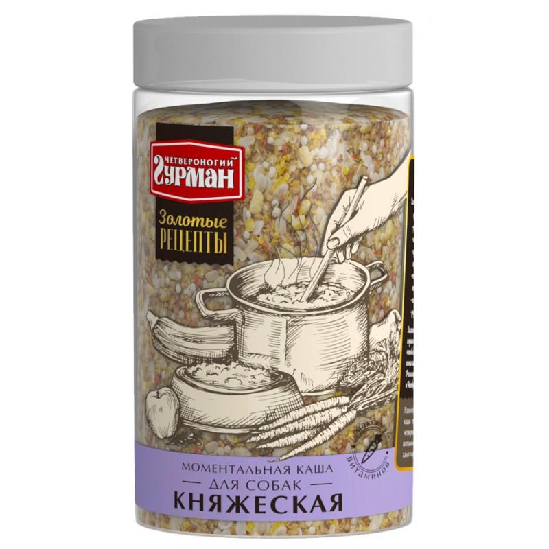 Каша для собак Четвероногий Гурман Золотые рецепты Княжеская 0,3 кг