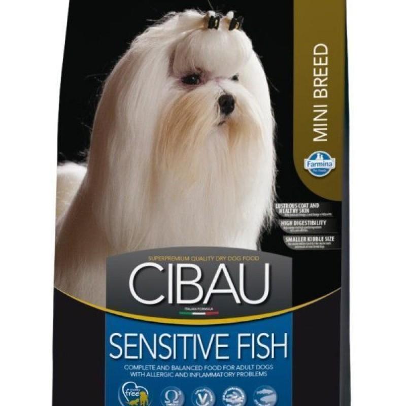 Сухой корм для собак Farmina Cibau Sensitive Fish Mini 0,8 кг