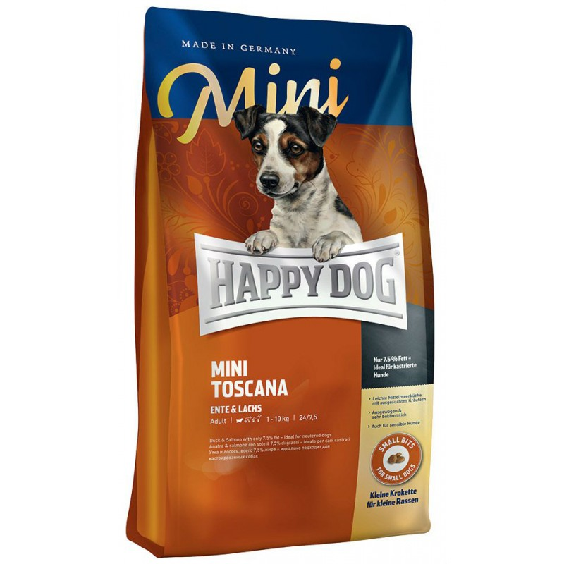 Сухой корм для собак Happy Dog Mini Toscana 4 кг