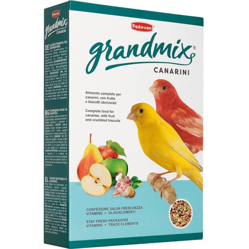 Сухой корм для канареек Padovan Grandmix Canarini комплексный 0,4 кг