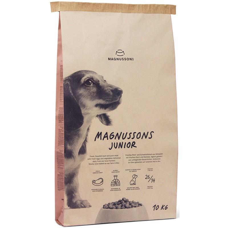 Сухой корм для щенков Magnusson Meat&Biscuit Junior 4,5 кг
