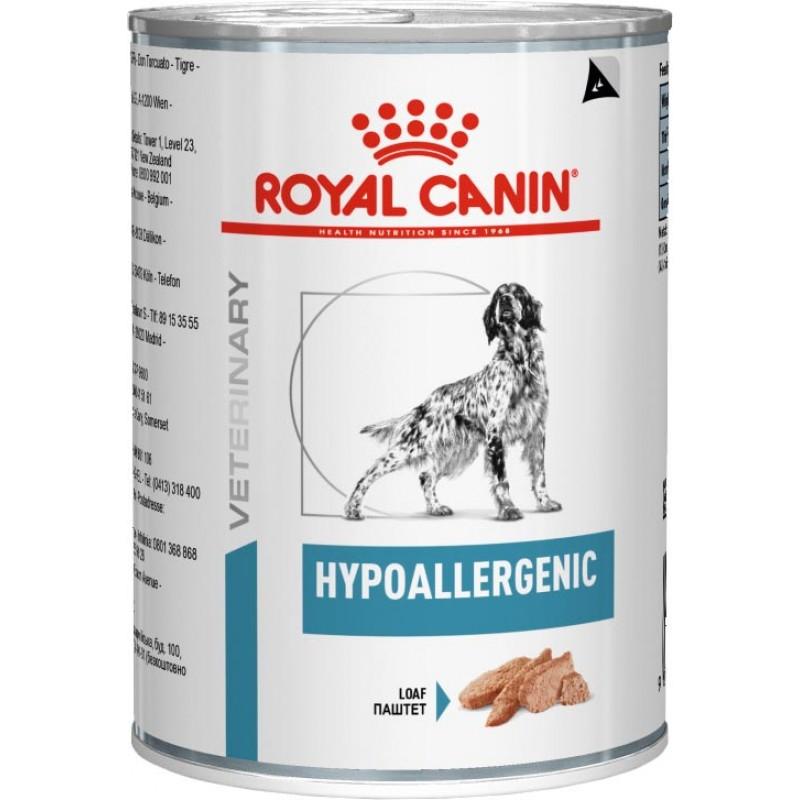 Влажный корм Royal Canin Hypoallergenic сanine диета для собак 0,4 кг