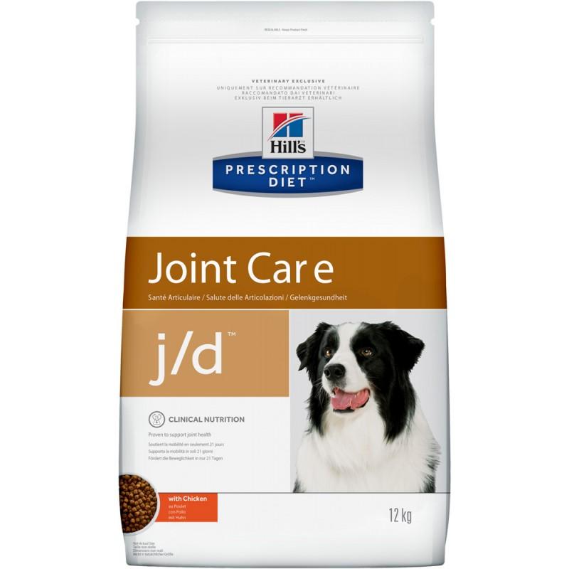 Сухой корм Hills Prescription Diet j/d Canine Mobility диета для собак 12 кг