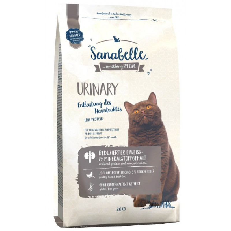 Сухой корм для кошек Sanabelle Urinary 2 кг