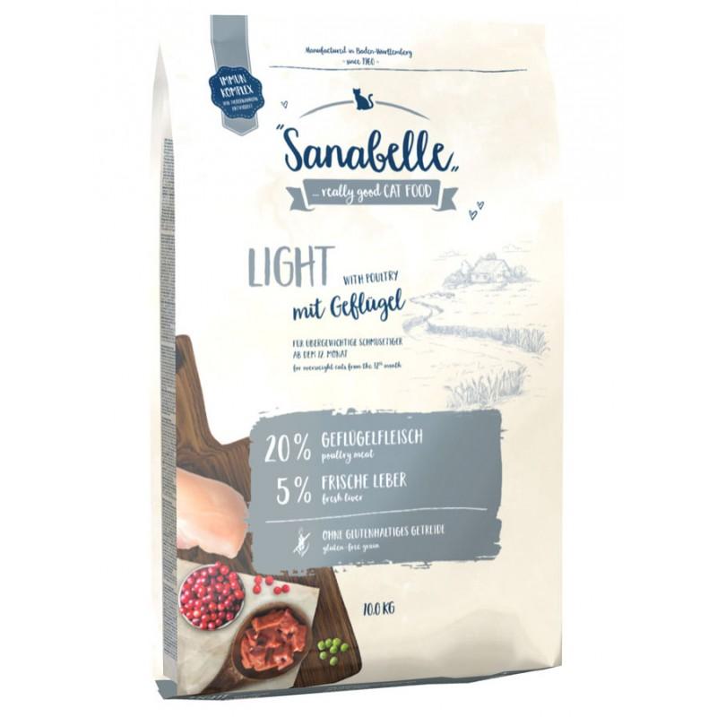 Сухой корм для кошек Sanabelle Light 10 кг