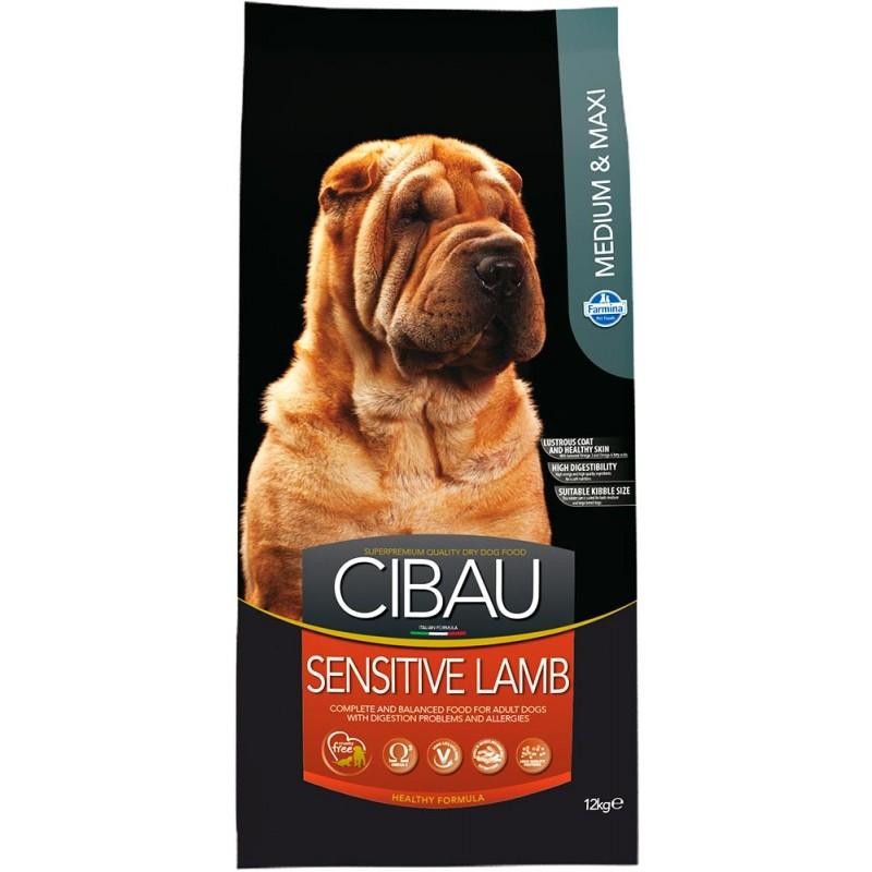 Сухой корм для собак Farmina Cibau Sensitive Lamb Medium & Maxi 12 кг