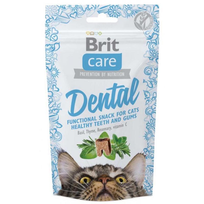 Лакомство для кошек Brit Dental 0,05 кг