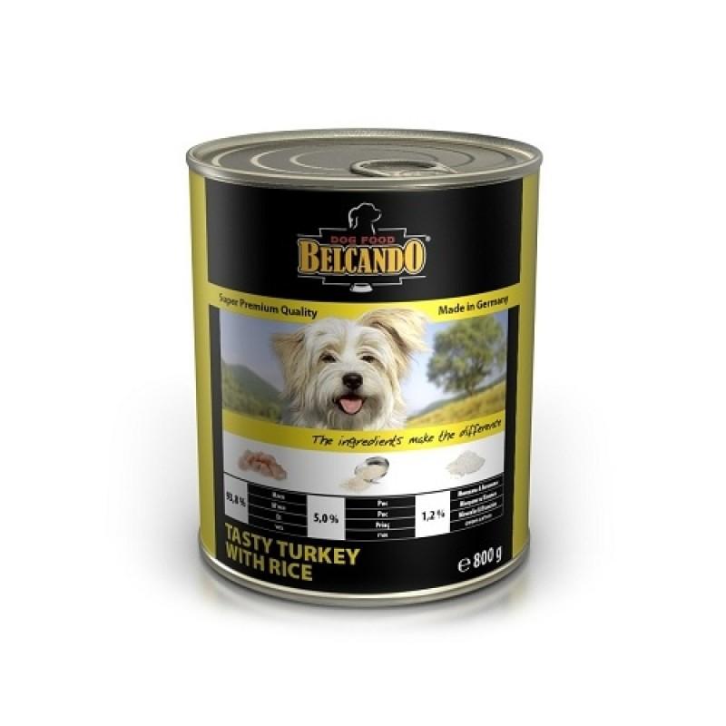 Влажный корм для собак Belcando BELСANDO Tasty Turkey with Rice 0,4 кг