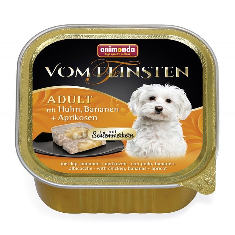 Влажный корм для собак Animonda Vom Feinsten Adult с курицей бананом и абрикосами 0,15 кг