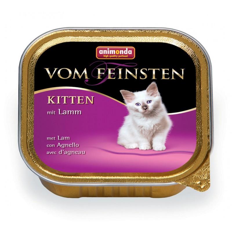 Влажный корм для котят Animonda Vom Feinsten Kitten с ягненком 0,1 кг