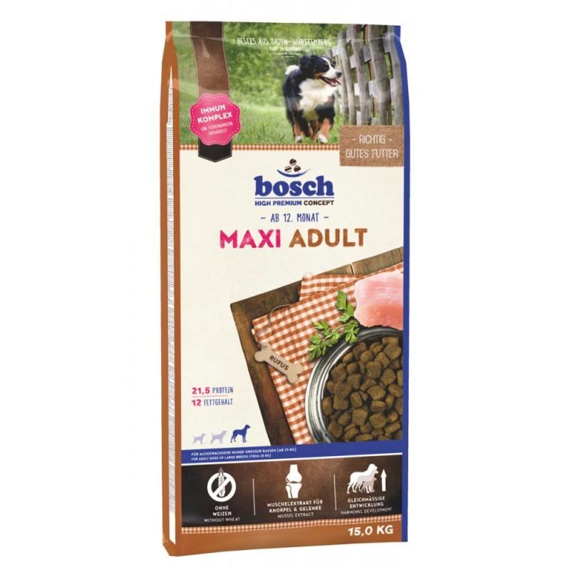 Сухой корм для собак Bosch Maxi Adult 15 кг