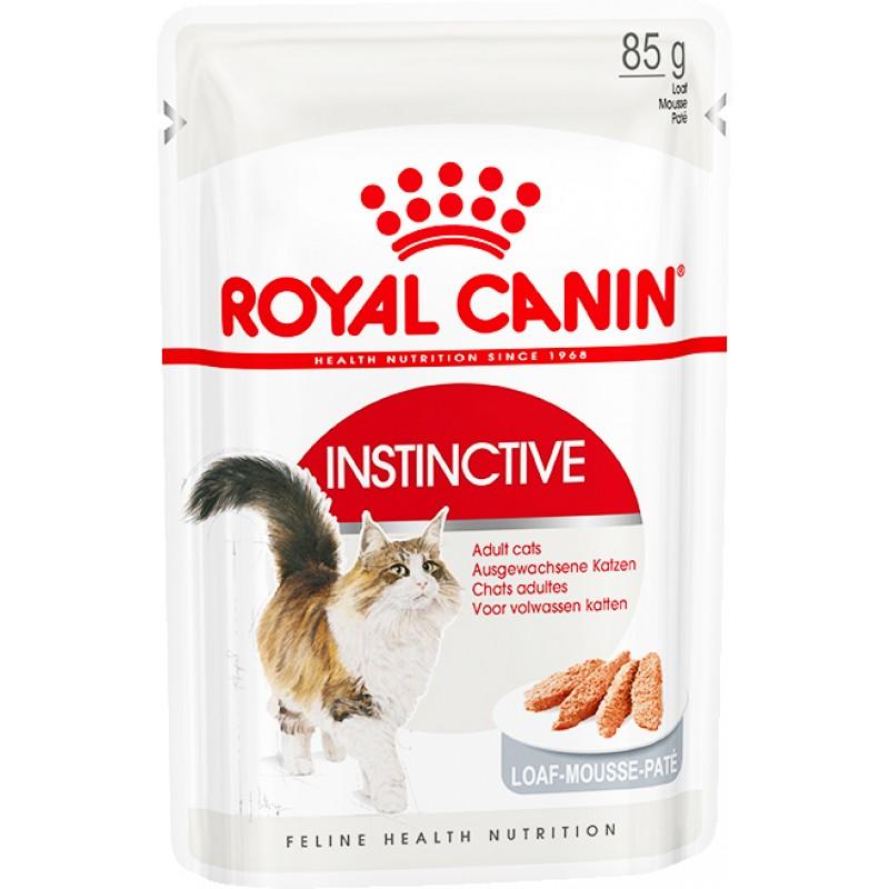 Влажный корм для кошек Royal Canin Instinctive Adult Loaf Beef Pate Pouche 0,085 кг