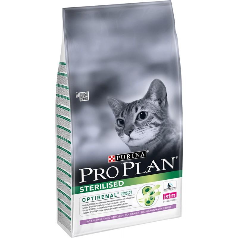 Сухой корм для кошек Purina Pro Plan Sterilised Feline Turkey 0,4 кг