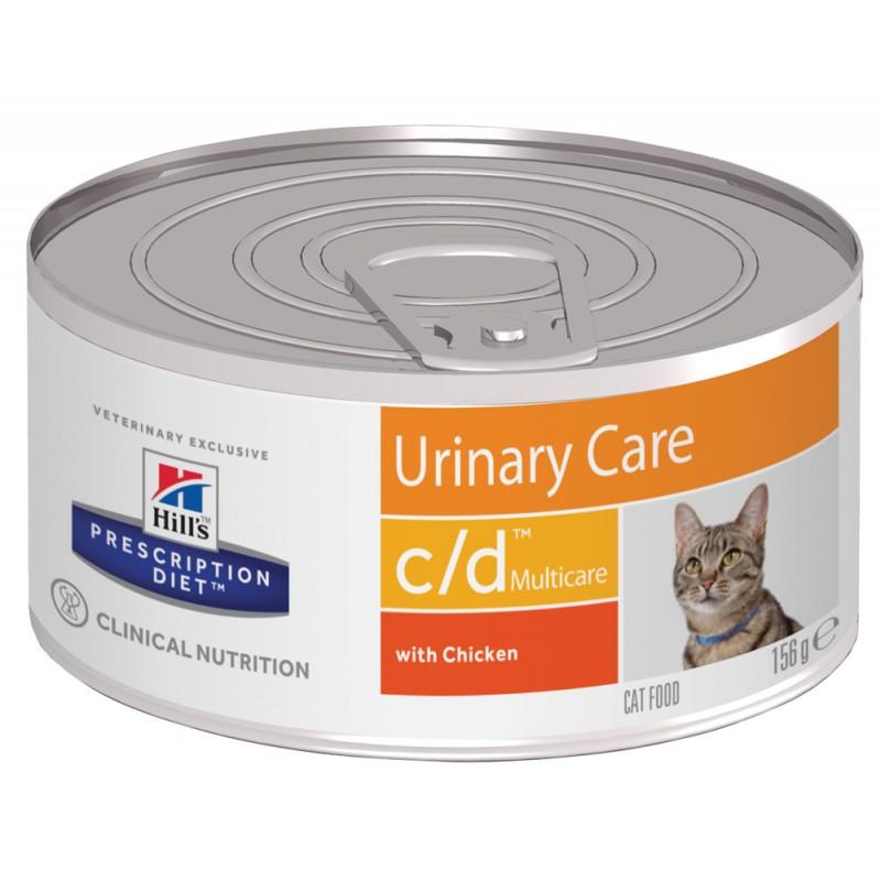 Влажный корм Hills Prescription Diet c/d Feline Canned диета для кошек 0,156 кг