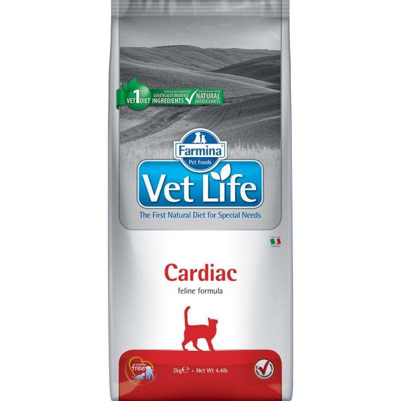 Сухой корм Farmina VET LIFE Feline Cardiac диета для кошек 2 кг