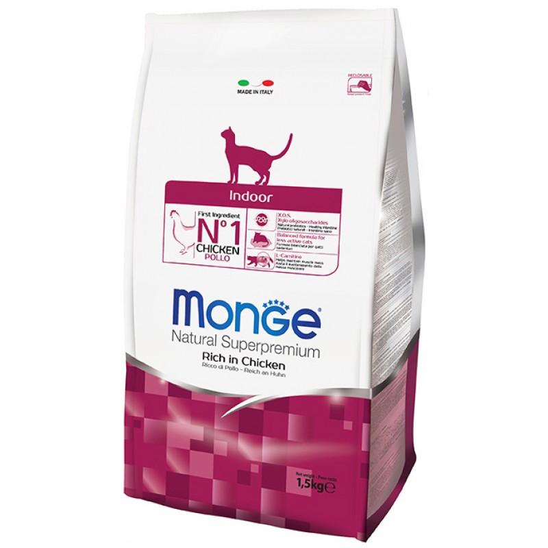 Сухой корм для кошек Monge Indoor 10 кг